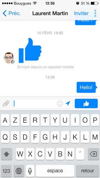 Facebook Messenger - Discussion