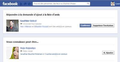 gérer les demandes d ajout en ami sur facebook aussitot fr