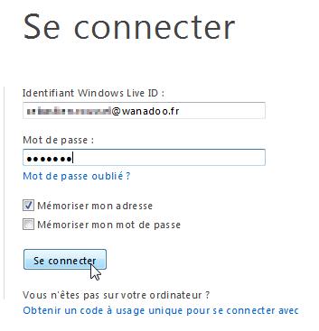 Se connecter à Windows Live Messenger sans logiciel