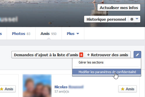 Super remise produits de commodité sortie d'usine Cacher sa liste d'amis sur son profil Facebook – Aussitot.fr