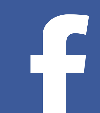 logo facebook jaune