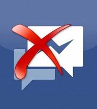 Supprimer les messages Facebook