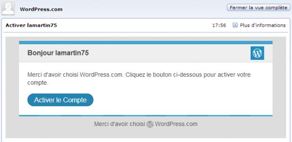 avatar wordpress mail
